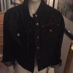 Genuine Harley Davidson denim black jacket